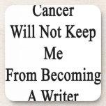 El cáncer no me guardará de hacer escritor posavasos