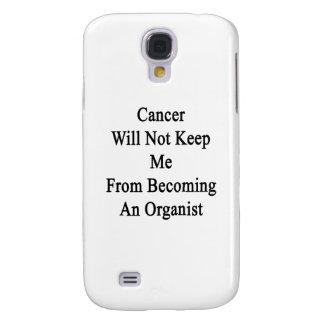 El cáncer no me guardará de hacer organista