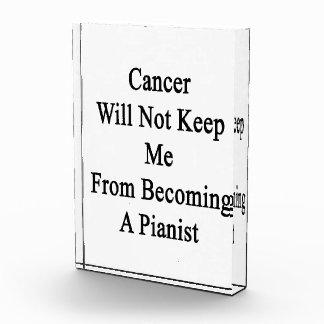 El cáncer no me guardará de hacer pianista
