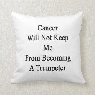 El cáncer no me guardará de hacer un Trumpeter. Cojines