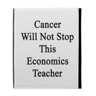 El cáncer no parará a este profesor de la economía