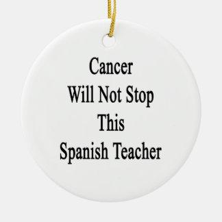 El cáncer no parará a este profesor español ornamento para arbol de navidad
