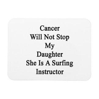El cáncer no parará a mi hija que ella es el imán rectangular