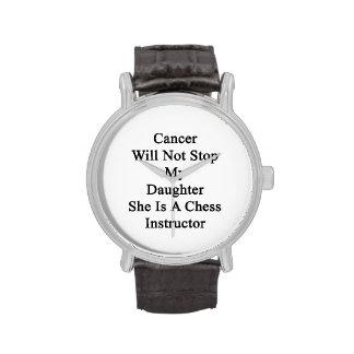 El cáncer no parará a mi hija que ella es un relojes