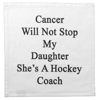 El cáncer no parará a mi hija que ella es un servilletas