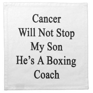 El cáncer no parará a mi hijo que él es un coche servilleta de papel