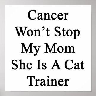 El cáncer no parará a mi mamá que ella es un instr poster