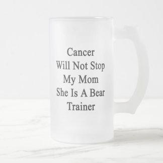 El cáncer no parará a mi mamá que ella es un instr taza