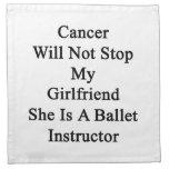 El cáncer no parará a mi novia que ella es un ball servilleta