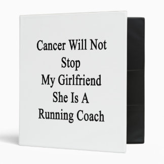 El cáncer no parará a mi novia que ella es un Runn