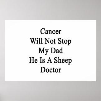 El cáncer no parará a mi papá que él es doctor de posters