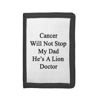 El cáncer no parará a mi papá que él es doctor del