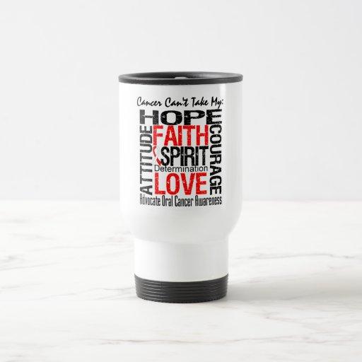 El cáncer no puede tomar a mi esperanza el cáncer  tazas de café