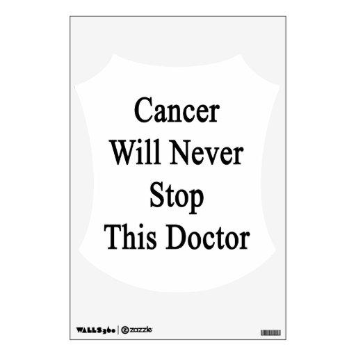 El cáncer nunca parará a este doctor