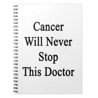 El cáncer nunca parará a este doctor libreta espiral