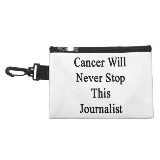 El cáncer nunca parará a este periodista