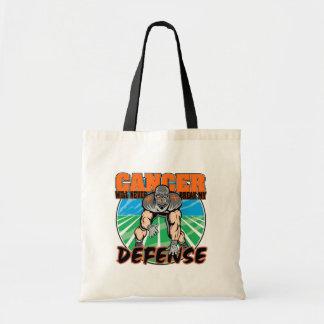 El cáncer nunca romperá mi defensa - leucemia bolsa tela barata