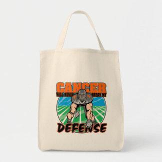 El cáncer nunca romperá mi defensa - leucemia bolsa tela para la compra
