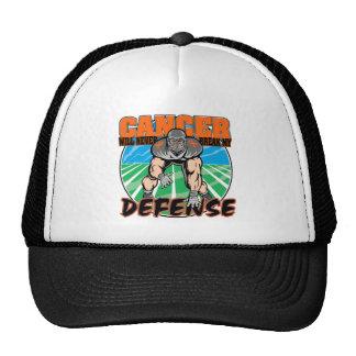 El cáncer nunca romperá mi defensa - leucemia gorras