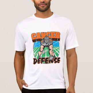 El cáncer nunca romperá mi defensa - leucemia t shirt