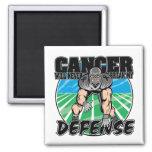 El cáncer nunca romperá mi melanoma de la defensa imán de frigorífico
