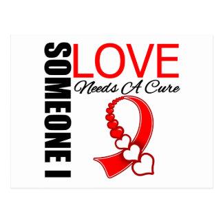 El cáncer oral alguien amor de I necesita una Tarjetas Postales