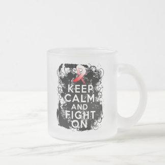 El cáncer oral guarda calma y sigue luchando tazas de café