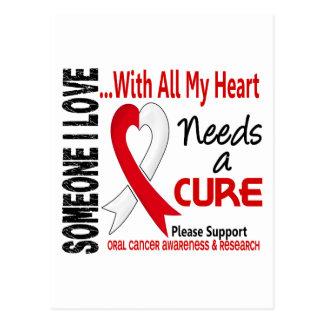El cáncer oral necesita una curación 3 postales
