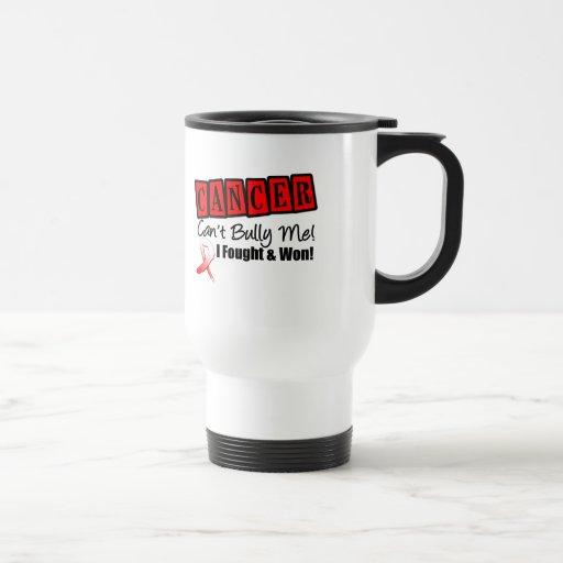El cáncer oral no puede tiranizarme… que me luché  taza de café