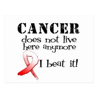 El cáncer oral no vive aquí más postales