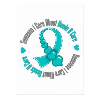 El cáncer ovárico alguien cuidado de I necesita Tarjetas Postales