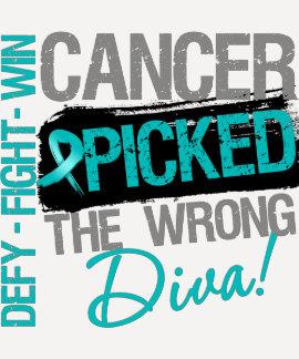 El cáncer ovárico escogió a la diva incorrecta camisetas