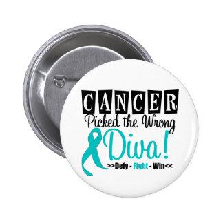 El cáncer ovárico escogió a la diva incorrecta v2 pin