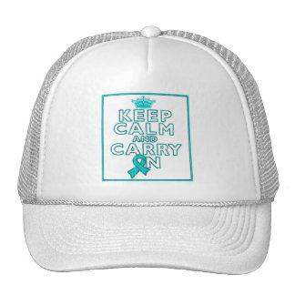 El cáncer ovárico guarda calma y continúa gorras