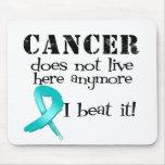 El cáncer ovárico no vive aquí más alfombrilla de ratón