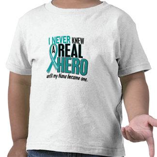 El cáncer ovárico NUNCA CONOCÍA a un HÉROE 2 Nana Camisetas