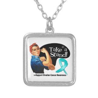 El cáncer ovárico toma un soporte collar