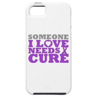 El cáncer pancreático alguien amor de I necesita u iPhone 5 Case-Mate Protector