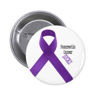 El cáncer pancreático chupa el botón pins