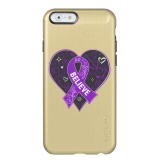 El cáncer pancreático cree el corazón de la cinta funda para iPhone 6 plus incipio feather shine