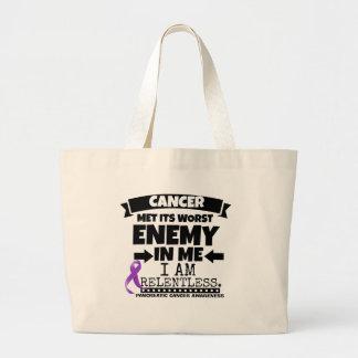 El cáncer pancreático hizo frente a su enemigo bolsa tela grande