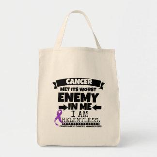 El cáncer pancreático hizo frente a su enemigo bolsa tela para la compra