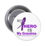 El cáncer pancreático mi héroe es mi abuela pins