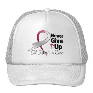 El cáncer principal del cuello nunca da para arrib gorros