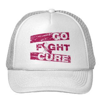 El cáncer principal del cuello va curación de la l gorras de camionero
