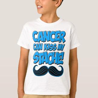 ¡El cáncer puede besar mi Stache! Playera