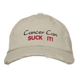 ¡El cáncer puede CHUPARLO! Gorro Bordado