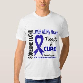 El cáncer rectal necesita una curación 3 playeras