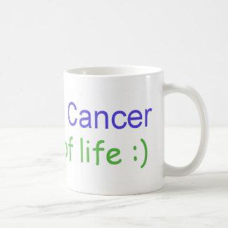 El cáncer superviviente es una manera de vida taza de café