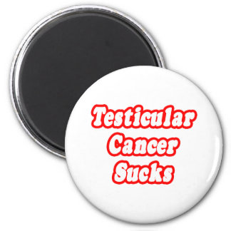 El cáncer testicular chupa imán de frigorífico